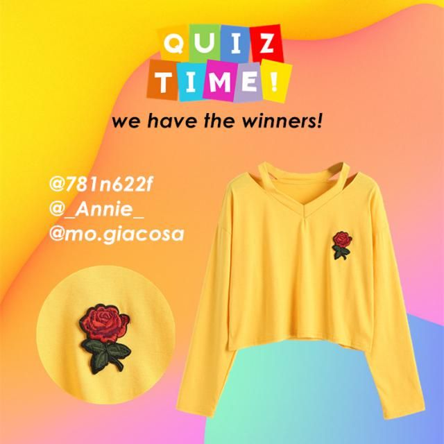 【Winners Announcement 】 The correct answer for the last quiz contest is item D. Congratulations to the winners! Plea…