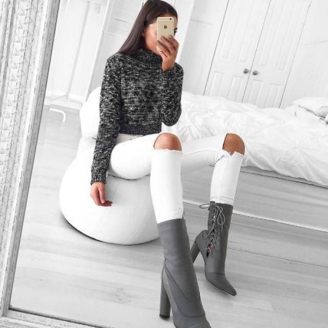 Here in Zaful you will find the most beautiful, comfortable, warm sweaters at an excellent price! If yours is the gray …