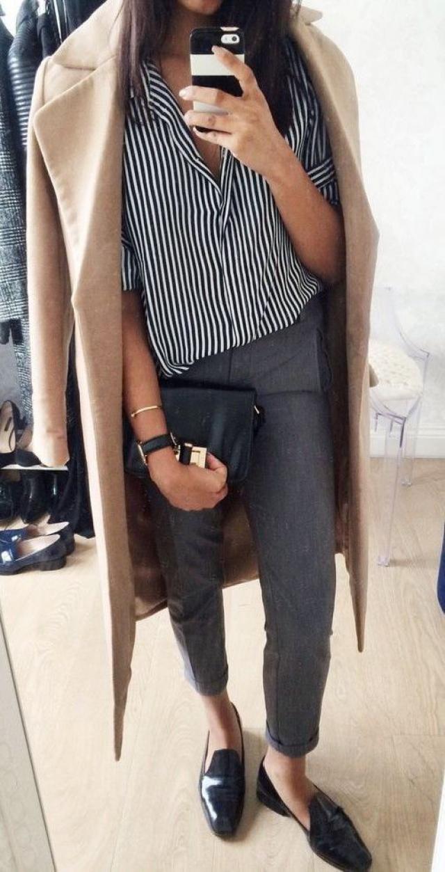 Stripe blouse!!