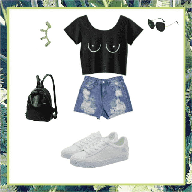 Cool Sunny Day Outfit.