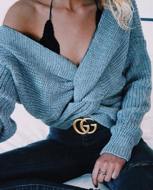 this sweater is so soft and fluffy sooo buy it now