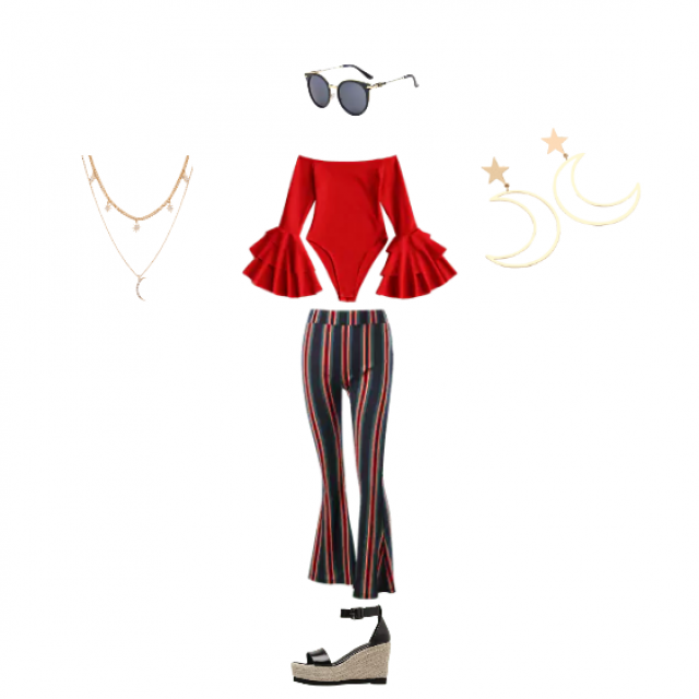 This is a peculiar outfit, it is definitely not for every occasion, maybe for a theme party or and event, who knows? Bu…