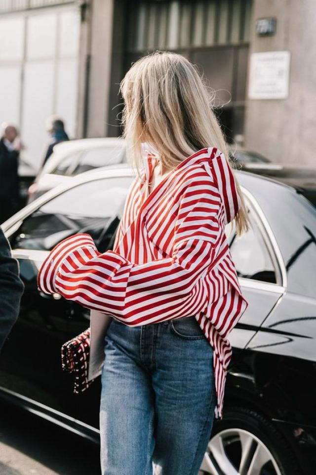I just can't get enough of the stripes