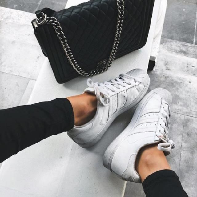 I love wearing black jeans with white shoes, yay or nay?