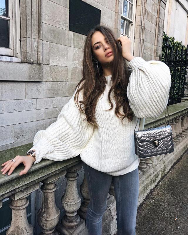 Gorgeous White Sweater