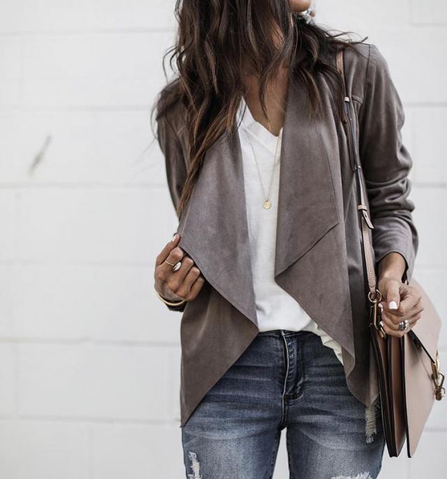 Nice grey coat