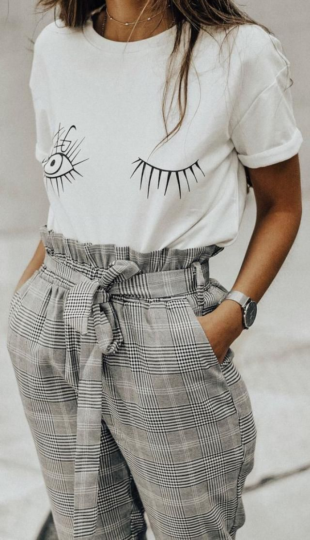 I love plaid pattern I don't know why but it's so chic and classy