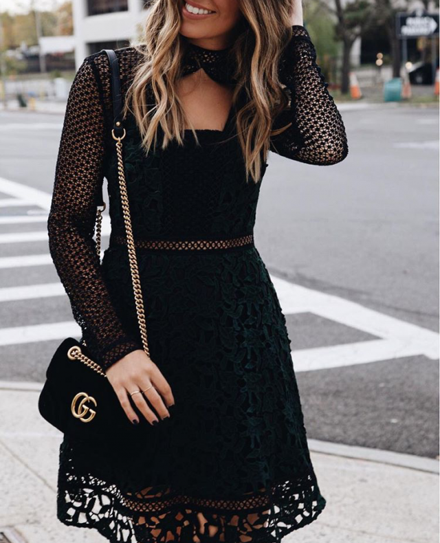 cool lace dress for woman