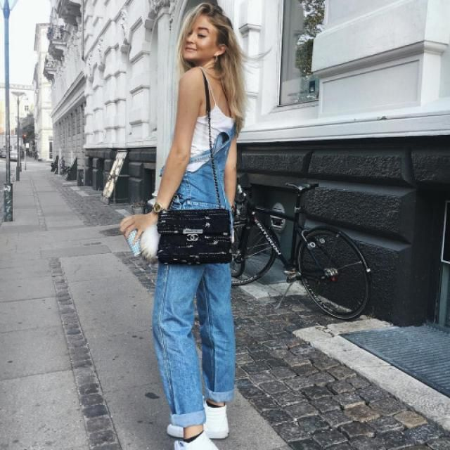 Denim overalls are so beautiful and perfect for that persons who like street style, is so comfy and relaxed!!♥♥♥     …