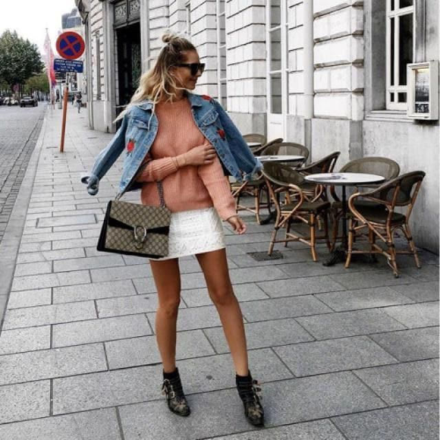 Spring is the perfect season tho wear this cool and fashionable outfit, i'm a denim lover so this jacket it's perfect t…