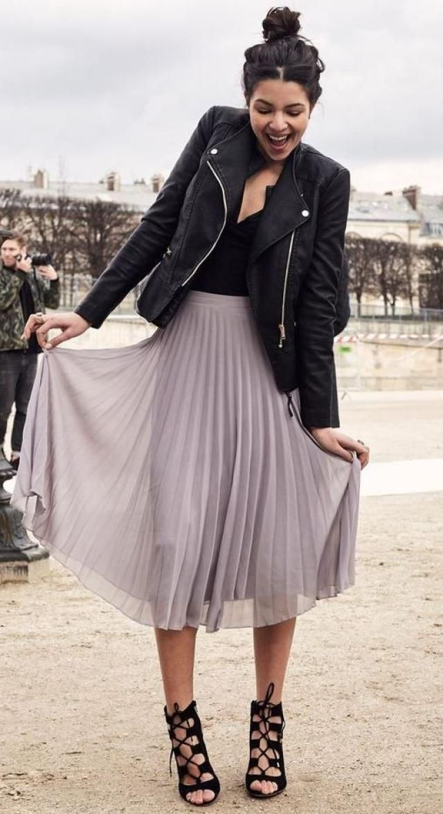 Jacket and skirt!!