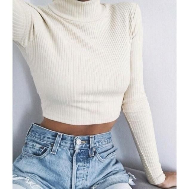 When you find the perfect cropped sweater, doesn't matter the shade, GET IT!