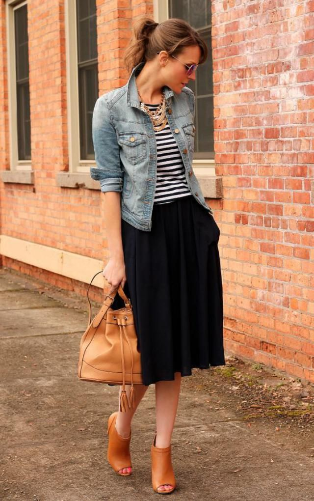 Skirt, jacket and bag!