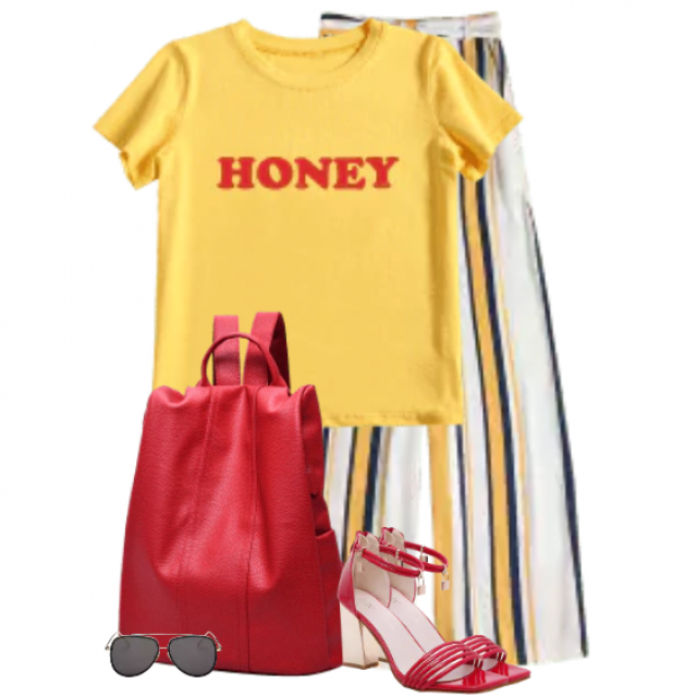 Beautiful and comfortable casual style