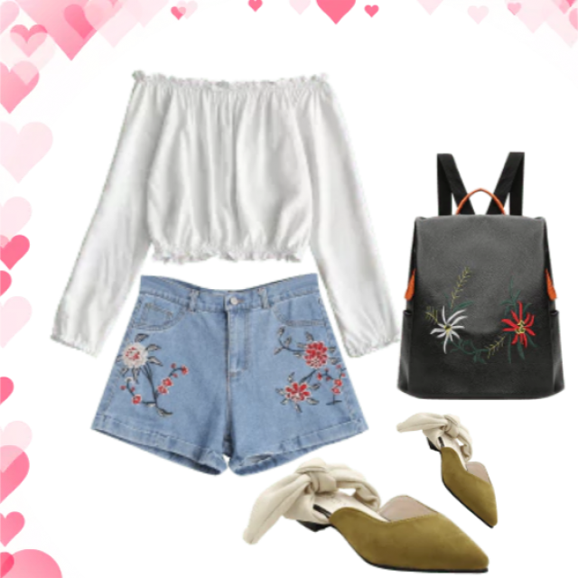 So chic spring fashion!