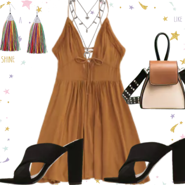 Fancy dress and this outfit are made for special moments. Be different with this combination. Great style on…