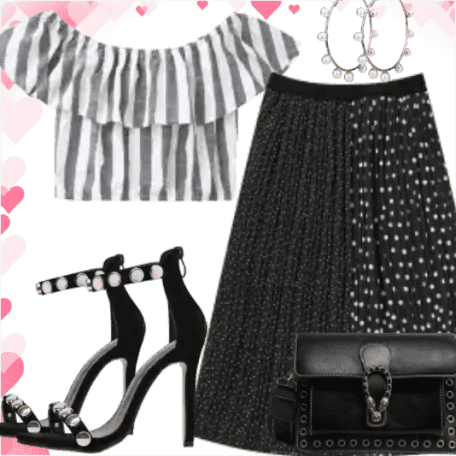 Romantic stuff for romantic and fashion night. Trendy skirt have lovely skirt and beautiful details. Be diffe…