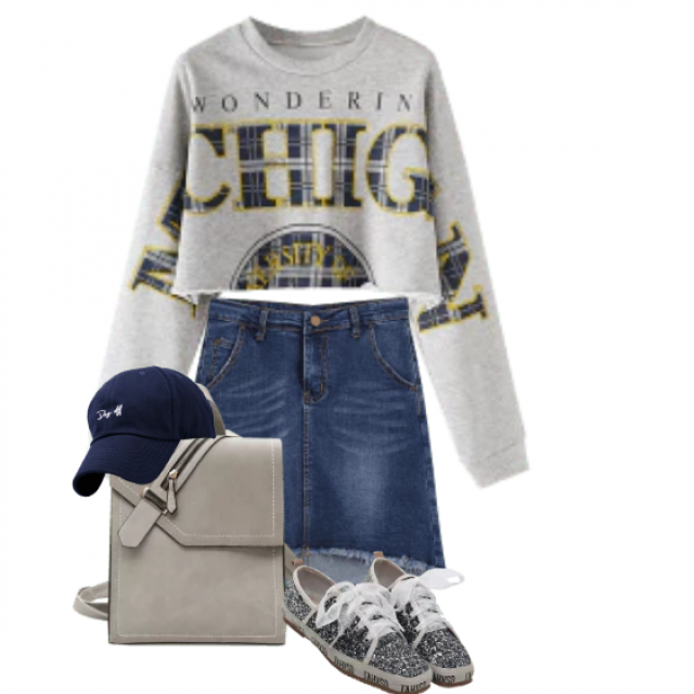 Cool look - perfect for a schoolday