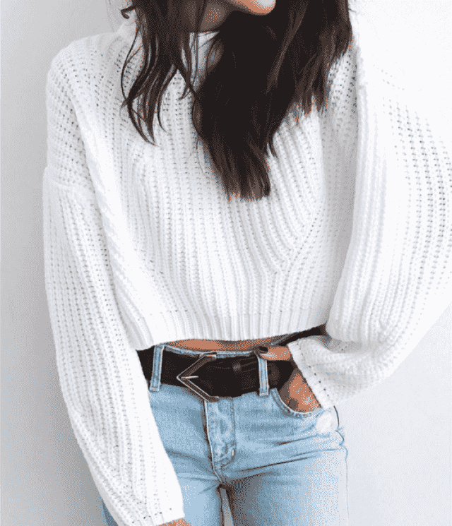 Do you like snow? then this is the perfect sweater for you!♥