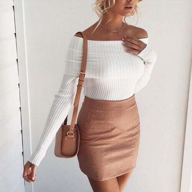 Gorgeous fit for a sweater yea?