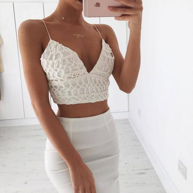 Elegant White Look