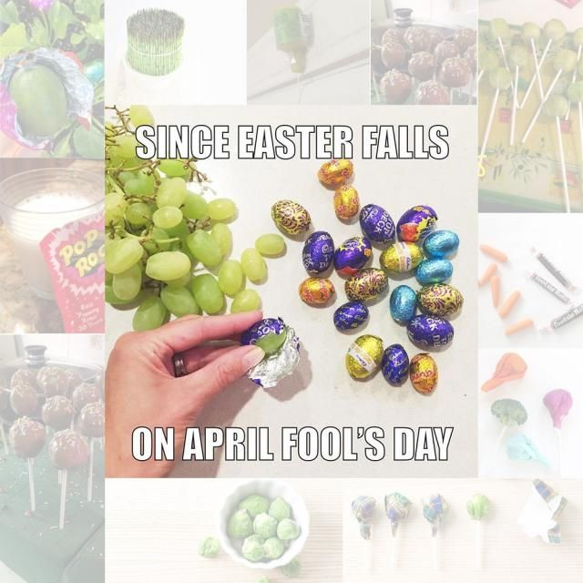 Since Easter falls on April fools day, how are you going to spend the day? Are you going to fool your friends? Or just…