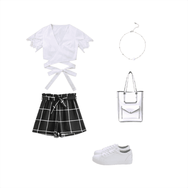 Black and White! You can wear this so good together and it looks great on every person!!  &white