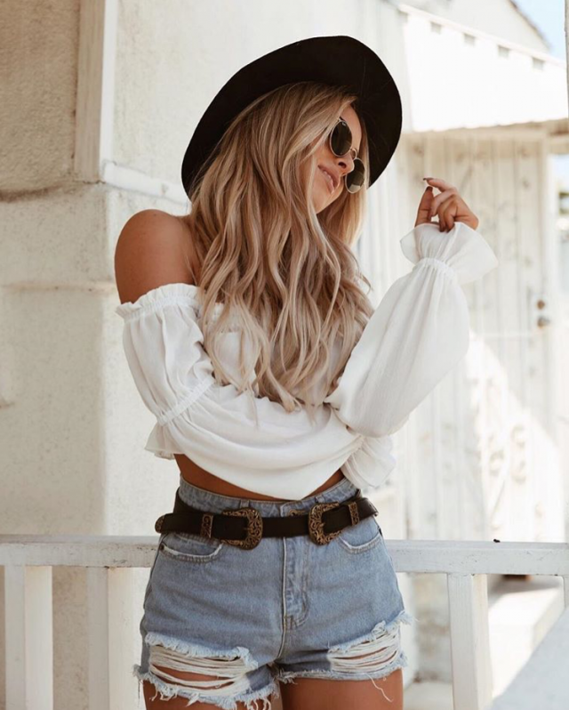Hats are pretty and cute and an easy way to make an outfit look effortlessly stylish