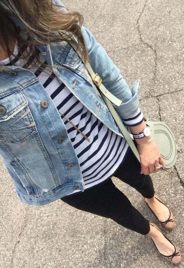 Jeans jacket!