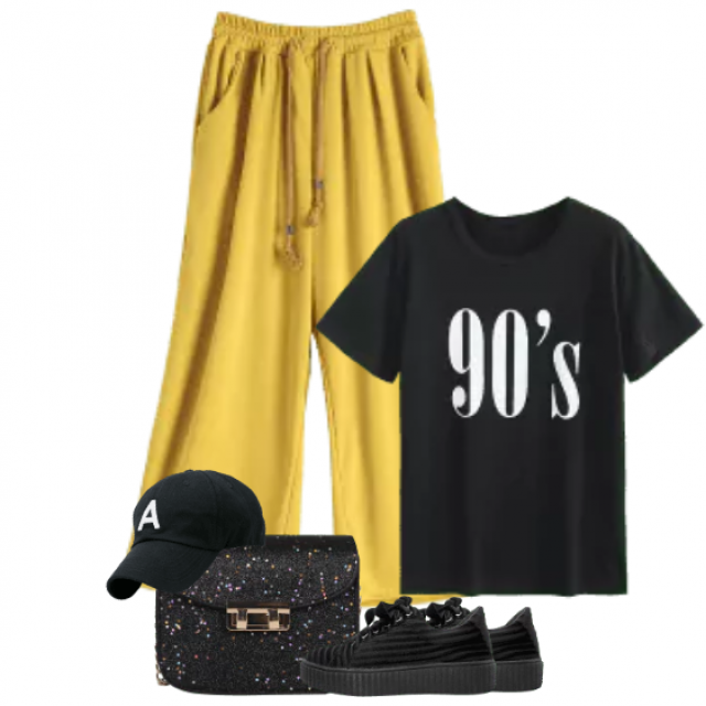 Cool and sportive outfit