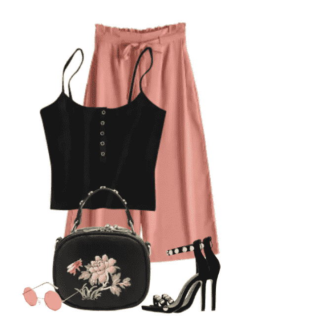 Trendy and cute bag - perfect to this summer outfit