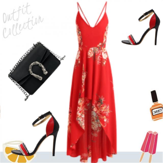Boho summer florar dress