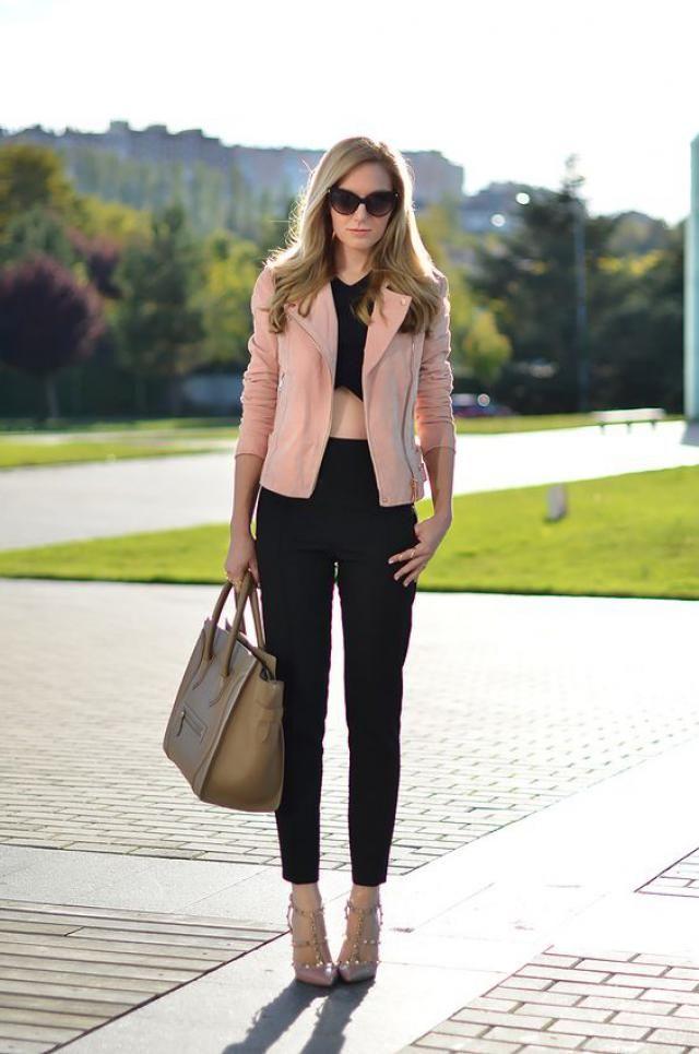 Pink jacket!!