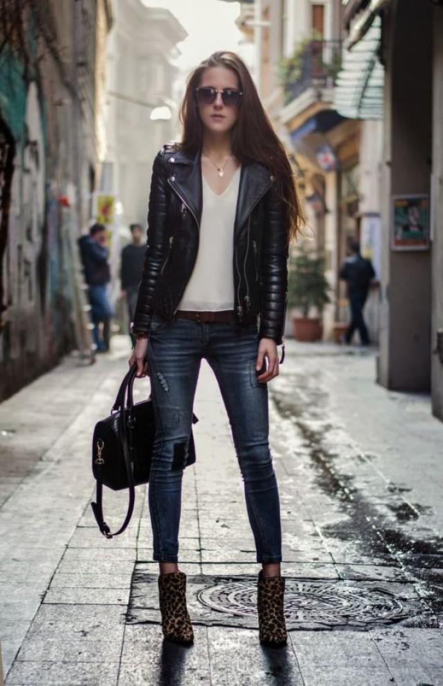 Black jacket!