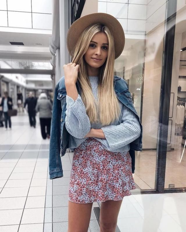 I'm in love with this outfit it's so cute and perfect for spring