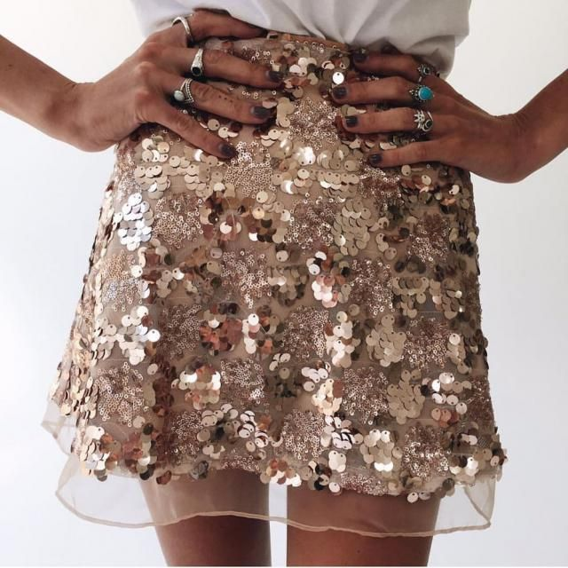 Gorgeous Sequined Skirt