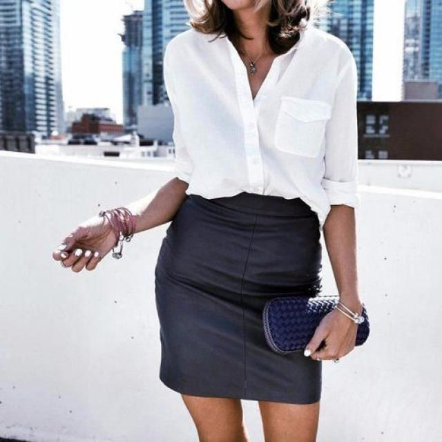 This is a classy look for work, what dou you think about it?