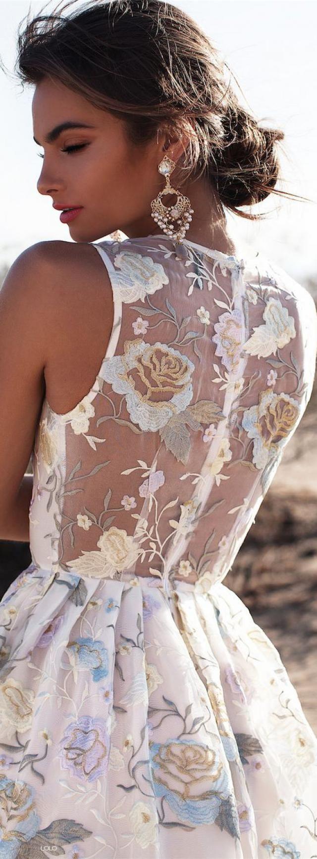 -white lace dress-