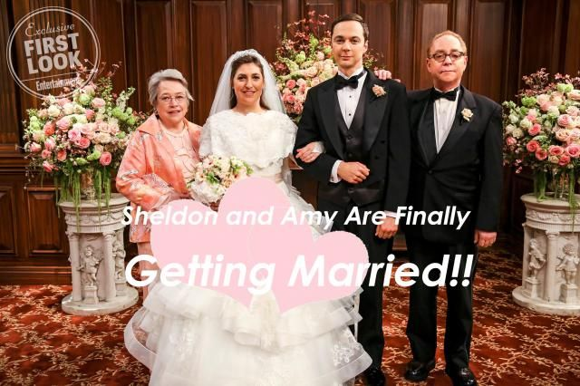Sheldon and Amy are finally getting married!! Are you still remember the lines? Which one is your favorite? A. I real…