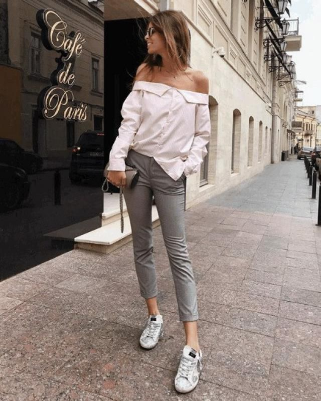Chic and comfy street style love it