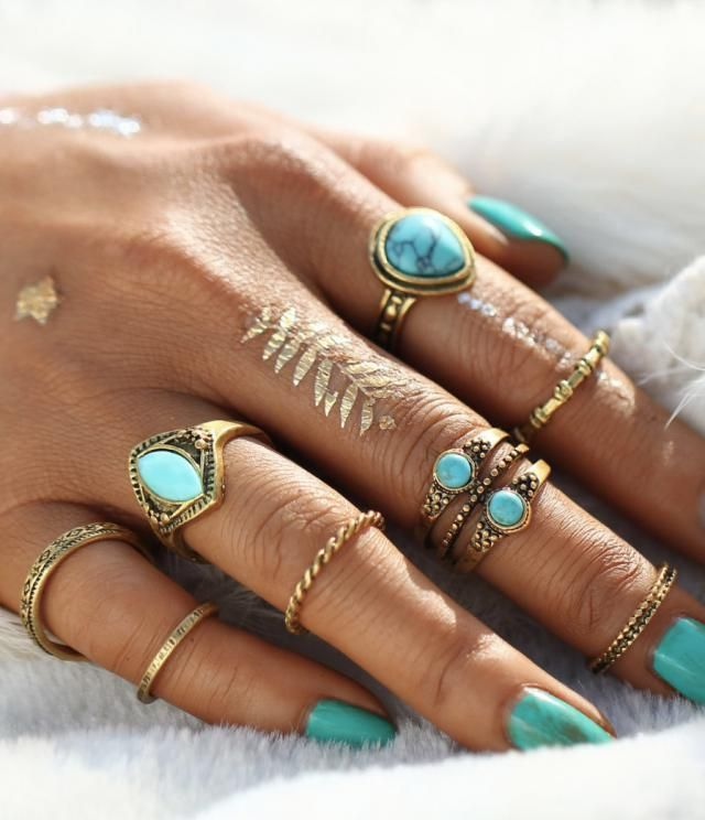 Cool rings for girls in Zaful colection