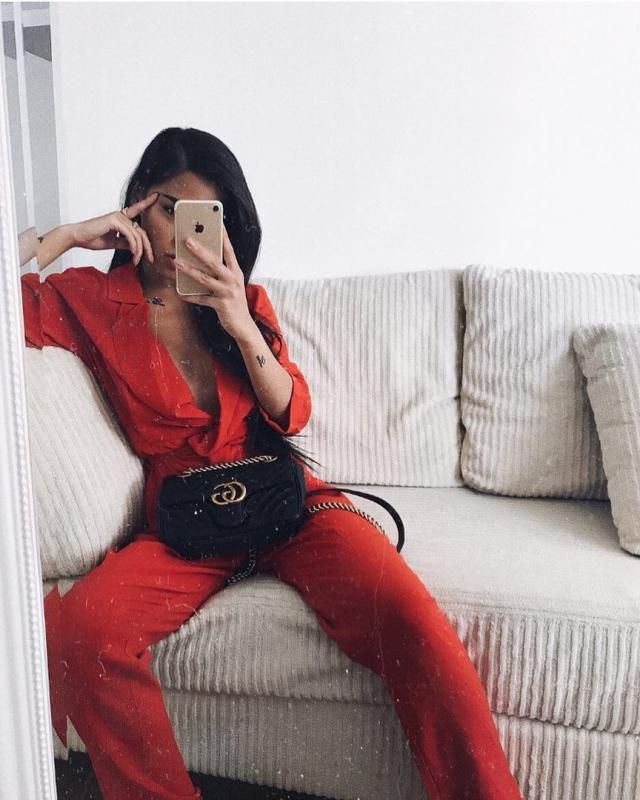 Beautiful Red Suit