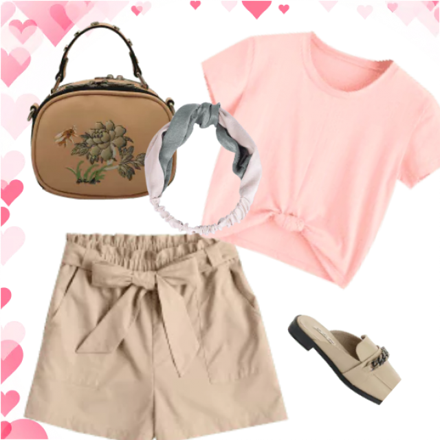 Shorts and t-shirts for a relaxed style