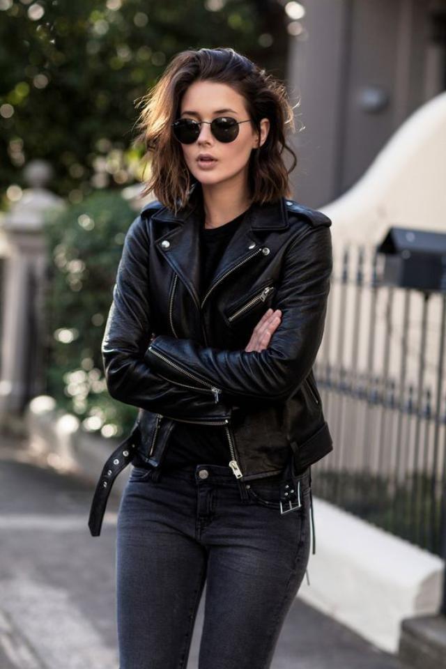 Black jacket!!