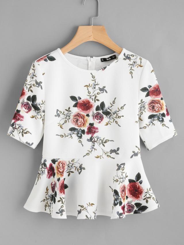 tees Nice tees with floral print