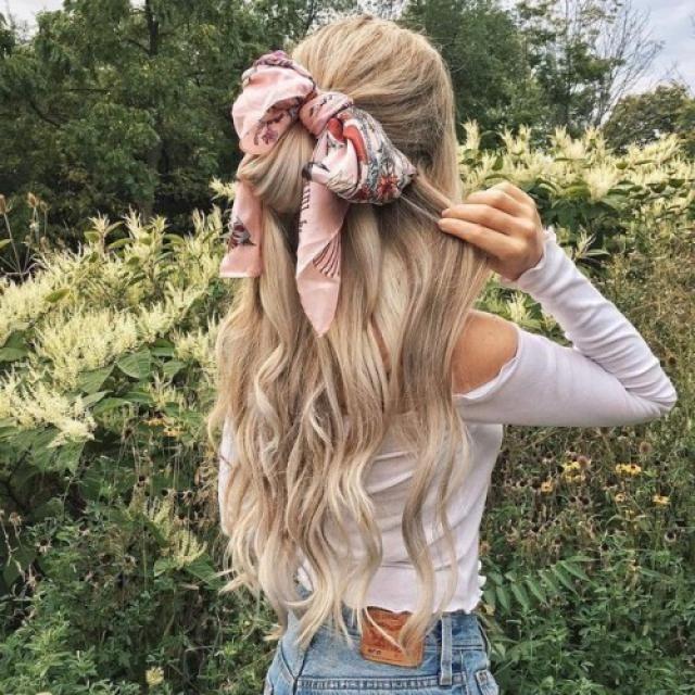 Bunny hair