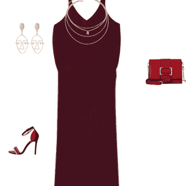 Maxi outfit for dinner date