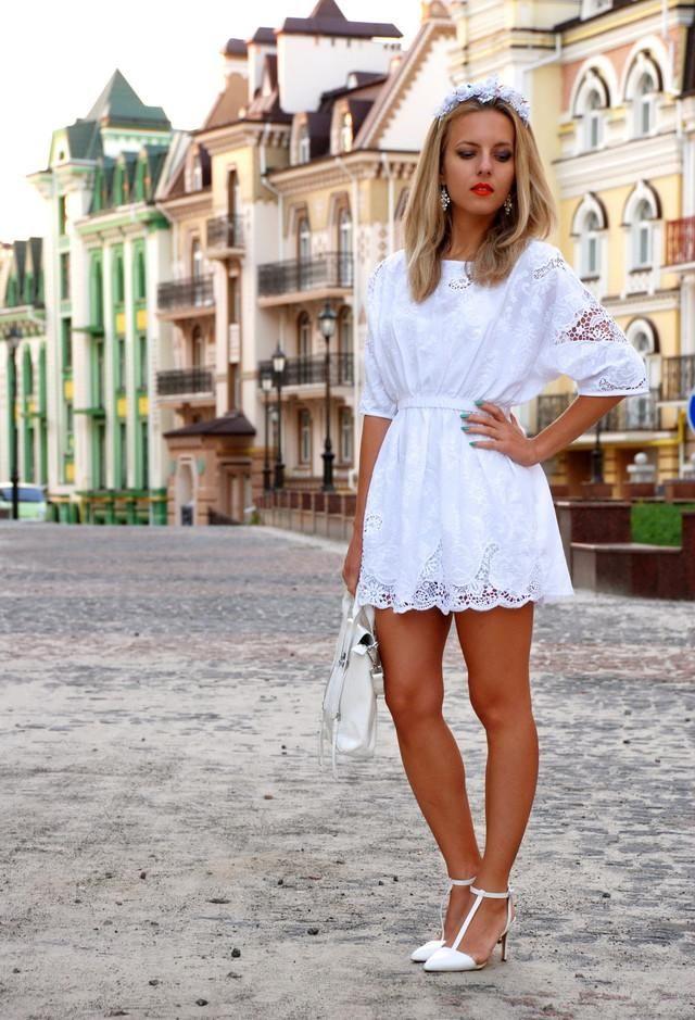Sexy White Dress .....