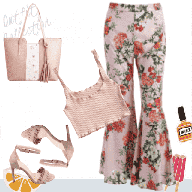 Daily Summer  Floral Outfit