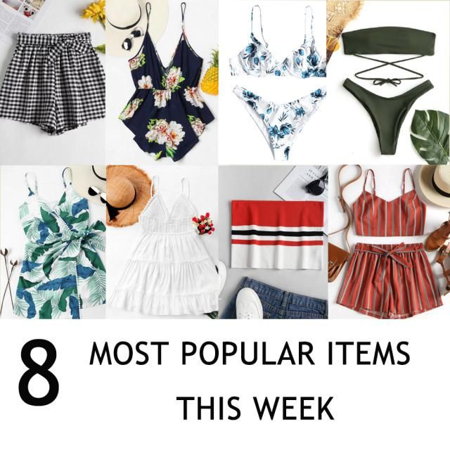 【EIGHT MOST POPULAR ITEMS THIS WEEK】